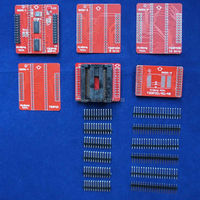 Original Adapters TSOP32 TSOP40 TSOP48 SOP44 ZIF Adapter Kit Only For MiniPro TL866A TL866CS Universal Programmer