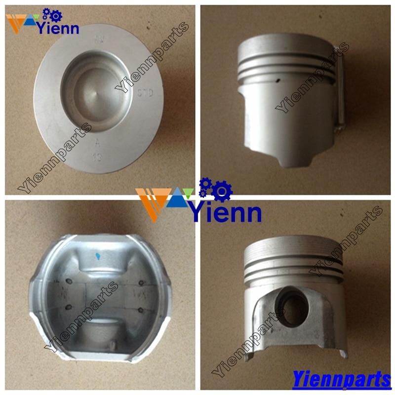 Kubota V2203 V2203T V2203E V2203B Piston 16423 21112 87mm