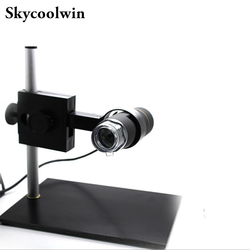1PCS Adjustable Stand 8 LED 500X USB Digital Microscope Endoscope For 2000/Win7/XP/Mac OS/Vista System new els27 forscan scanner for ford mazda lincoln and mercury vehicles supports windows 2000 xp vista 7 8 8 1 with free shipping