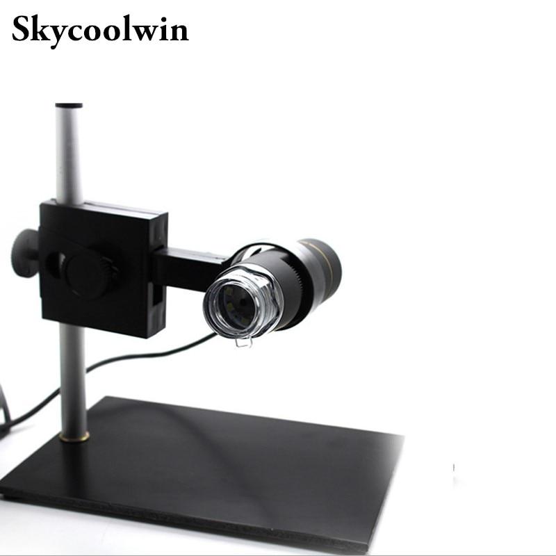 1PCS Adjustable Stand 8 LED 500X USB font b Digital b font font b Microscope b