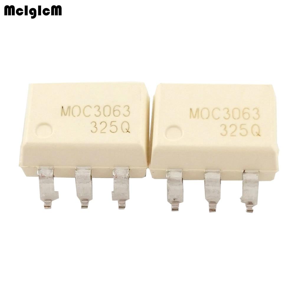 100 pcs/lot moc3063 sop6 optocoupleur moc3063 SMD100 pcs/lot moc3063 sop6 optocoupleur moc3063 SMD