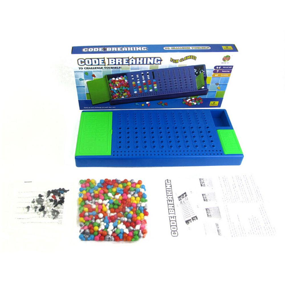 Montessori Toys Mastermind Code Breaking Craking Board Game Toy Code Breaking Game Children Intellectual Development