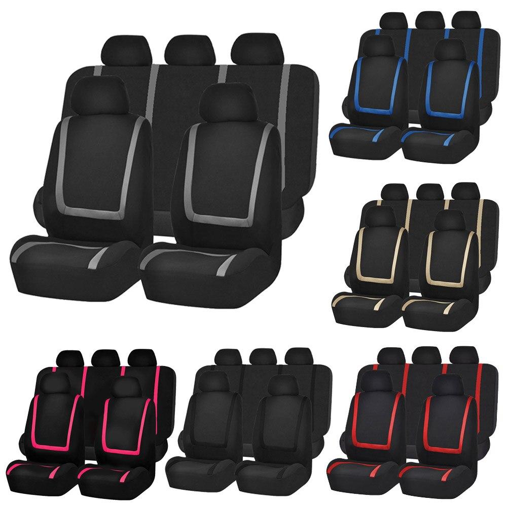 Full font b Car b font Seat Covers Universal High Quality Four Seasons Automobile Seat Cushion