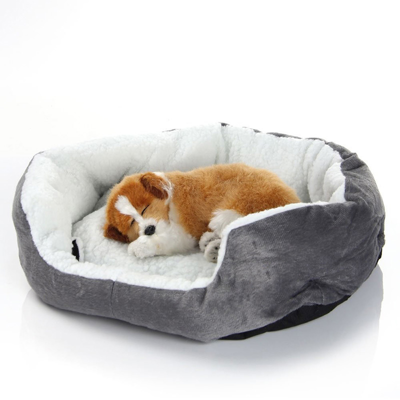 Dog Bed Mats Sofa Kennels Doggy Warm House Winter Cat Pet Sleeping Bed House For Puppy Small Dog Blanket Cushion Basket Supplies