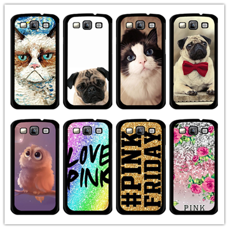 sale retailer 1b4da c8200 For samsung galaxy grand prime 5306 mobile phone case Cut bird pug ...