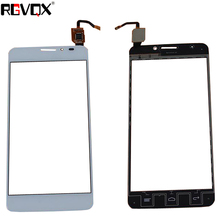 New Touch Screen For Alcatel One Touch Idol X 6040 6040A 6040D 6040X Digitizer Front Glass Lens Sensor Panel new 10 1 tablet campacitive touch screen for turbo x rubik di 1011 touch panel for turbo x rubik di 1011 digitizer glass sensor
