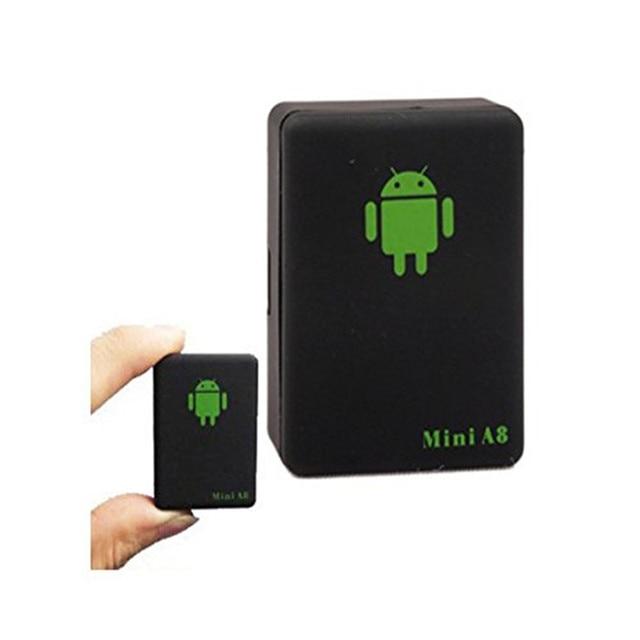 Mini A8 GPRS Tracker Protable GSM/GPRS Positionneur Tracker Emplacement de Suivi Adaptateur Localisateur Pour Personnes Âgées Animaux Rastreador Veicula