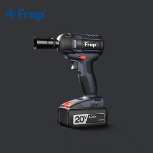 Image 2 - Frap New Impact Wrench Brushless Cordless Electric Wrench Power Tool 320N.m Torque Rechargeable Extra Battery Avaliable YHD919