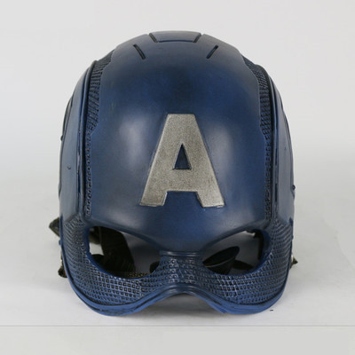 halloween mask captain america helmet steven rogers cosplay mask adult mens halloween mask cos props movie