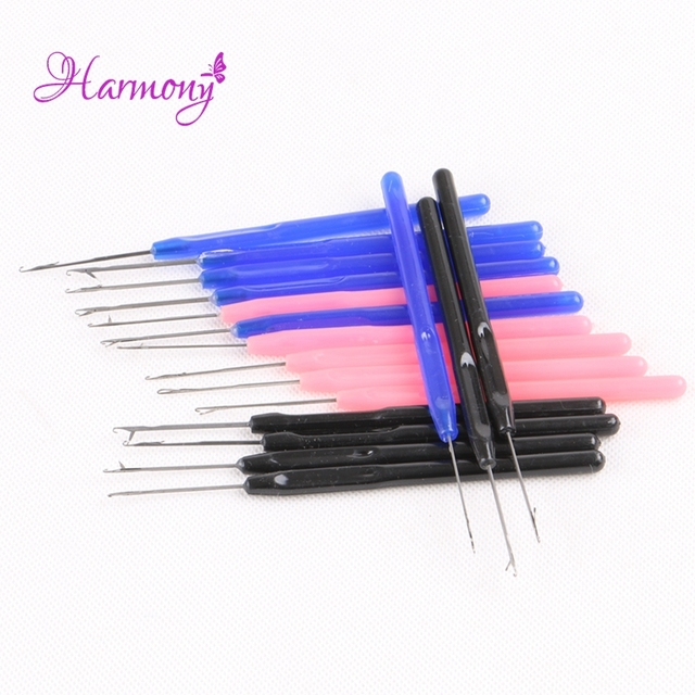 1pcs Latch Crochet Hair Hook Needles For Micro Rings I Tip Hair