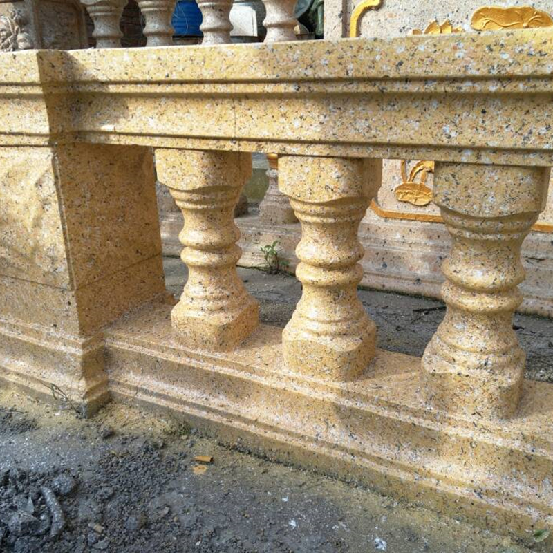 57cm /22.44in Short Classic Bottle Shape Cast In Place Concrete Parterre Baluster(With Rail) Mold /Gardening DIY Cement Fencing