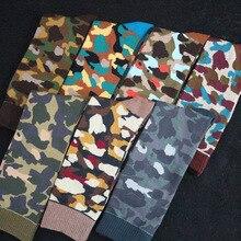 Big Sales New Fashion 100% Cotton Men's Socks Elegant High Quality Camouflage Men's Sock Soft Comfortable Man Sock