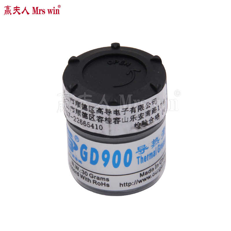 GD900 Paste Thermal Grease Thermocouple  Heatsink mx-2 for CPU Processor High Performance 30 Grams