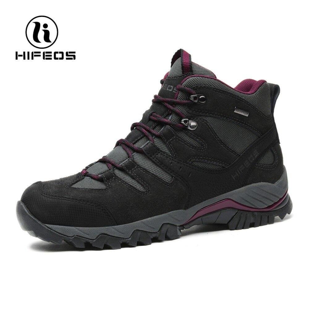 HIFEOS hommes de randonnée bottes sports de plein air escalade tourisme non-glissement tactique sneakers respirant marche en montagne camping chaussures