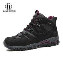 HIFEOS мужские походные ботинки Спорт на открытом воздухе Альпинизм Туризм Нескользящие Тактические кроссовки дышащие горные прогулочные походные туфли