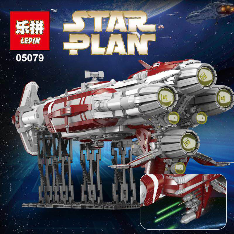Lepin 05079 Star Plan War MOC Zenith Old Republic escort cruiser Compatible With lego Building Blocks Bricks Kids Toys Gifts 2015 high quality spaceship building blocks compatible with lego star war ship fighter scale model bricks toys christmas gift