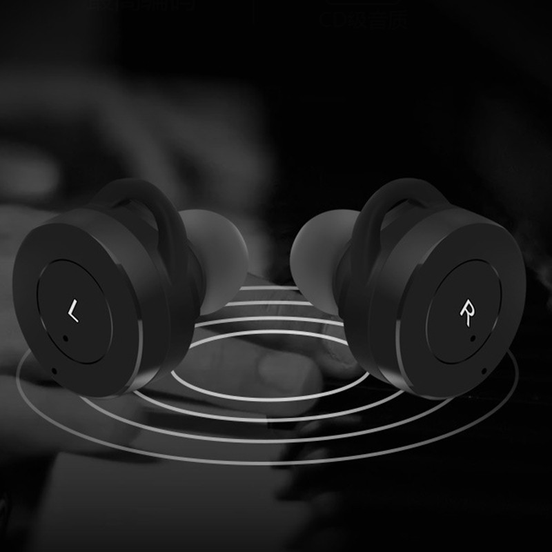 Mini Twins True Wireless Bluetooth Earphones In-Ear Stereo TWS V4.1 Bluetooth Headset Hands-free With Mic Charging Box for Phone