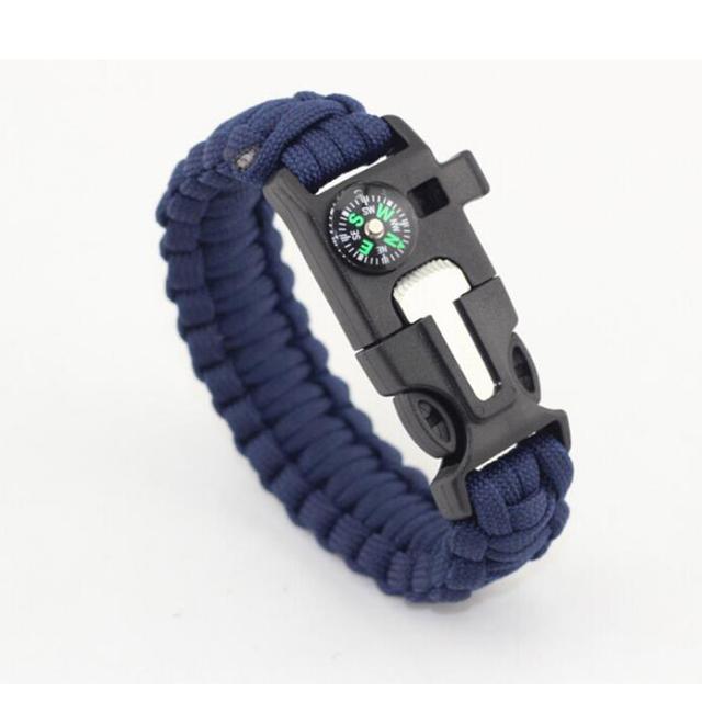 Braided Paracord Emergency Bracelet