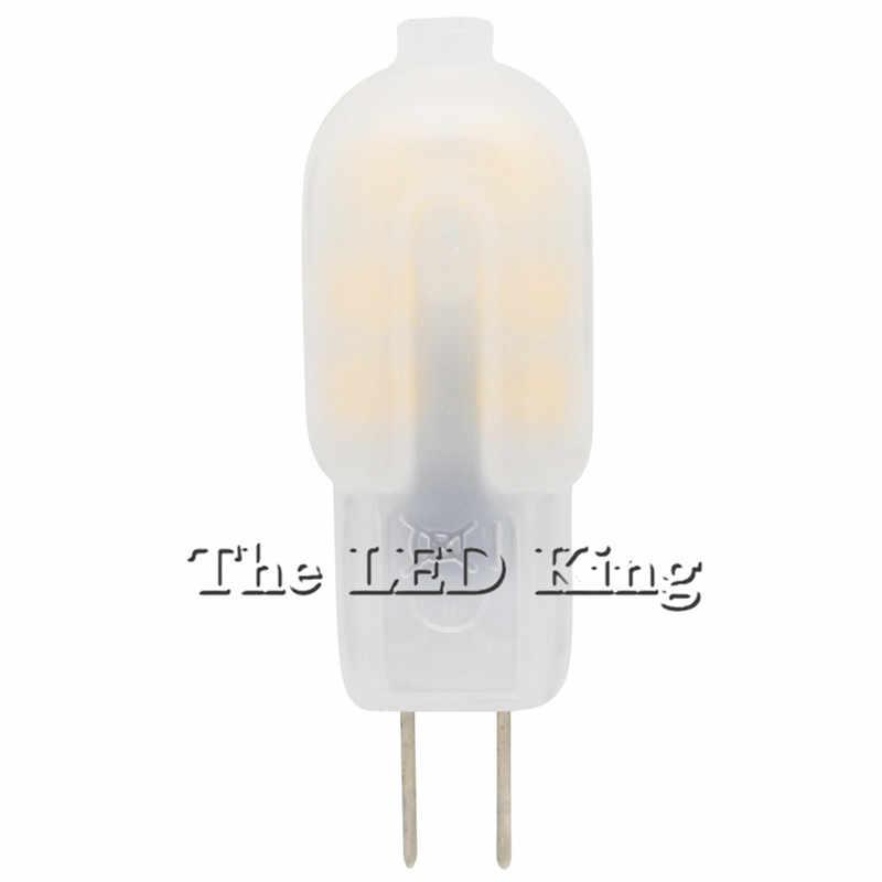 10 Buah/Banyak G4 Lampu LED 2W 3W Jagung Bulb AC 220V DC 12V Lampada LED G4 SMD2835 Jelas/Susu Cover Tinggi Terang Lampu Sorot Lampu Gantung
