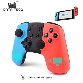 Беспроводной игровой контроллер Bluetooth для Nintend Switch геймпад джойстик для ПК игры джойстик для телефона Android