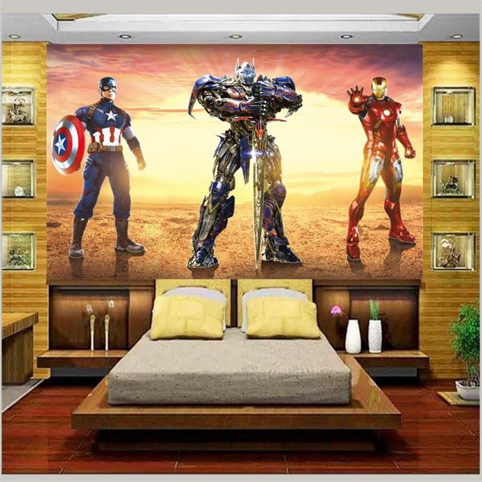 Wallpaper Dinding Gambar Spiderman