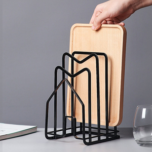 Image 3 - Практичный полезный органайзер для хранения 1 шт., полка для разделочной доски, подставка для горшка, органайзер для домашнего магазина кухни