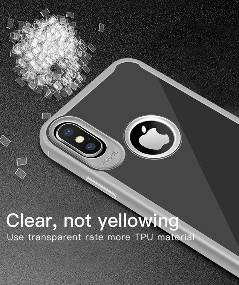 KIPX1089_14_JONSNOW Transparent Phone Case for iPhone 7 8 Plus 6S 6 Plus Soft Glue All-inclusive Protect Cover for iPhone X XR XS Max
