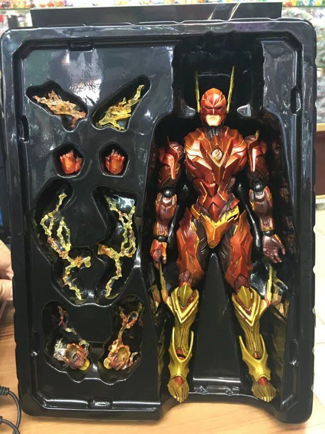 Variant Play Arts Kai DC Comics No.4 The Flash PVC Action Figure Collectible Model Toy 26cm KT3349  the flash funko pop the flash pvc action figure collectible model toy christmas gift