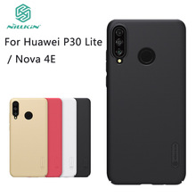 цена на NilkinFor Huawei P30 Lite Nova 4E Case Cover Nillkin Frosted Shield Hard PC Back Phone Cover For Huawei P30 Lite