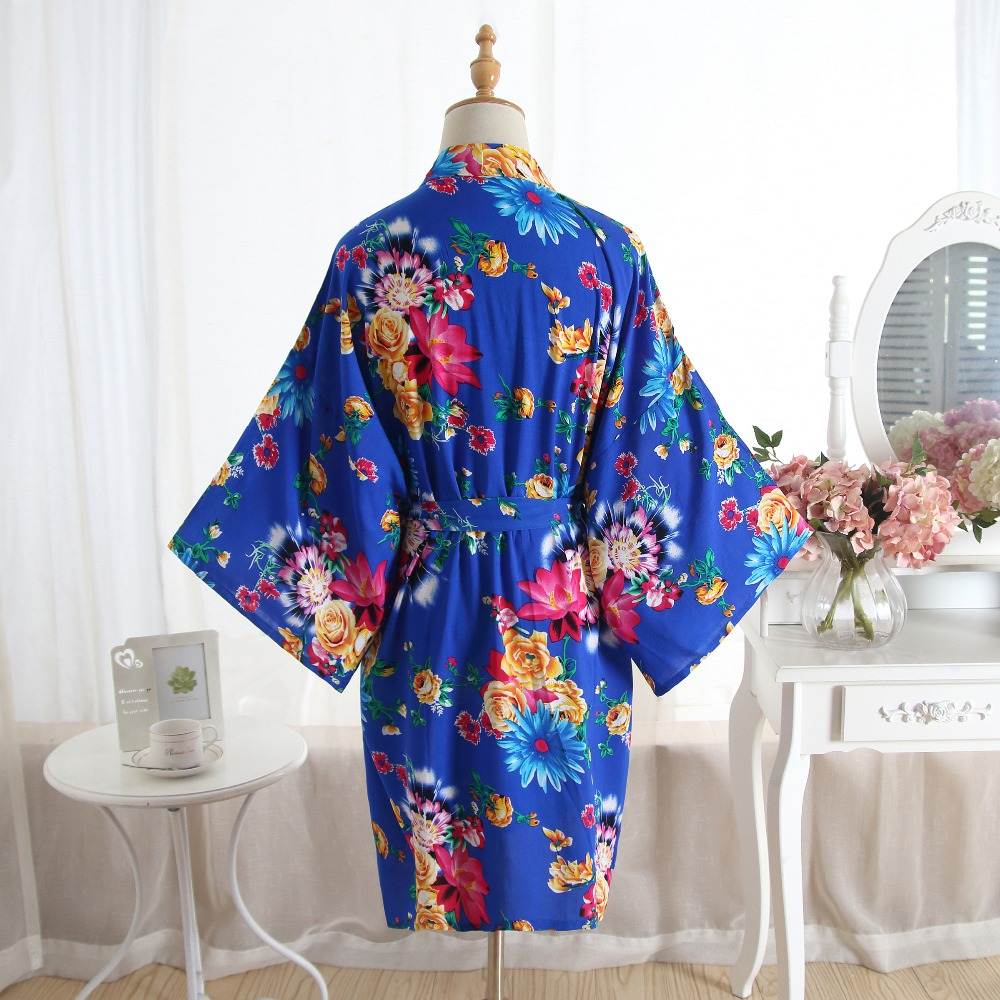 Kimono Kapas Gamis 2019 Baru Berpakaian Gaun untuk Wanita Cetak Bridesmaid  Jubah Seksi Baju Tidur Baju Tidur Nightie Plus Ukuran di Jubah dari Pakaian  Dalam ... 9f0c2465af