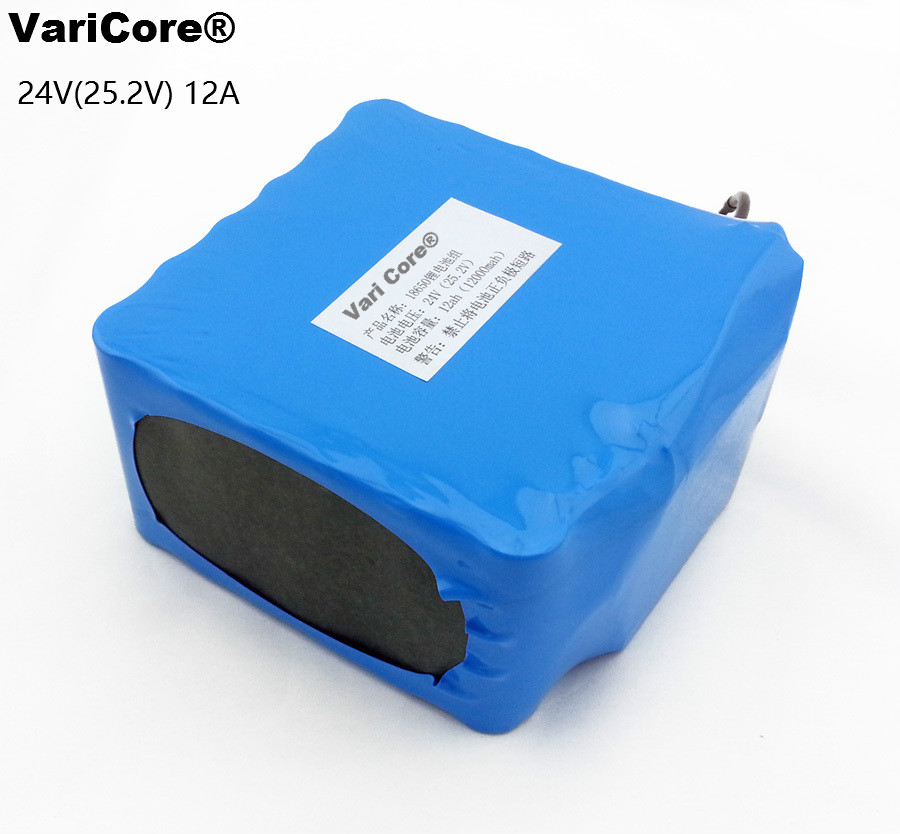 24V 6S6P 25.2V 12AH 18650 lithium battery pack / moped / Motorcycle / Electric car battery with a medical / Outdoor Lighting