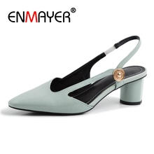 ENMAYER Casual  Slip-On Sandalias De Verano Para Mujer Shoes Women Summer Size 34-42 ZYL2639