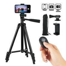 Профессиональный штатив для камеры, держатель для телефона, Bluetooth, пульт дистанционного управления, кронштейн, подставка, крепление, монопод, стильные аксессуары для IOS, Android