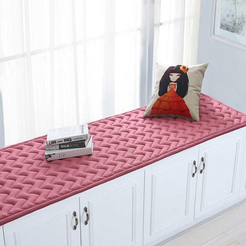 3CM 두꺼운 솔리드 코튼 플로어 매트 룸 놀이 크롤링 빨 수있는 지역 깔개 및 카펫 windowsill 복도 주방 러그