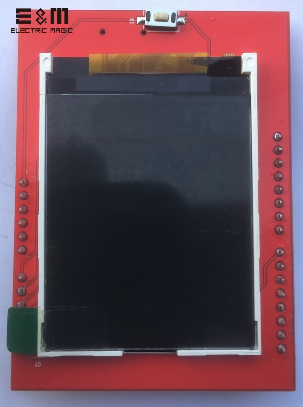 E&M New 2.2 Inch 220*176 Screen Shield Support Extend Font Library Flash TFT Color Display LCD Module S6d0164 Duino Uno Mega2560