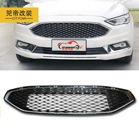 CITYCARAUTO OWN DEISIGN MODIFIED 2017 FUSION RACING GRILLE GRILL FRONT MASK COVER GRILLS FIT FOR FUSION MONDEO 2017+ CAR