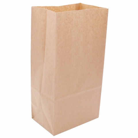 50pcs Kraft Paper Bags Food tea Small Gift Bags Sandwich Bread Bags Party Wedding supplies Wrapping Gift takeout take out Bags Karachi