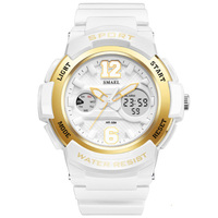 Fashion Ladies Dress Watches Girl Rose Gold Digital Sports Waterproof Electronic Quartz Watch For Women Clock
