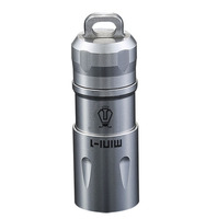 Jetbeam MINI 1 Super Mini Powerful And Rechargable Cree XP G2 Led Flashlight With Keychain By