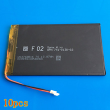 10 pcs 3.7V 3500mAh lipo lithium polymer rechargeable battery for DVD PDA PAD power bank e-book camera tablet PC laptop 3768112