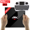 H96 Pro 3G/32G Android Tv Box Amlogic S912 2.4G/5.8G Dual WiFi Android 6.0 Tv Box HDMI 2.0 H96 BT4.0 PRO + 4 K Reproductor Multimedia Inteligente