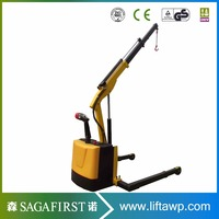 Eelctric Moving Counter Balanced Engine Stand Shop Crane