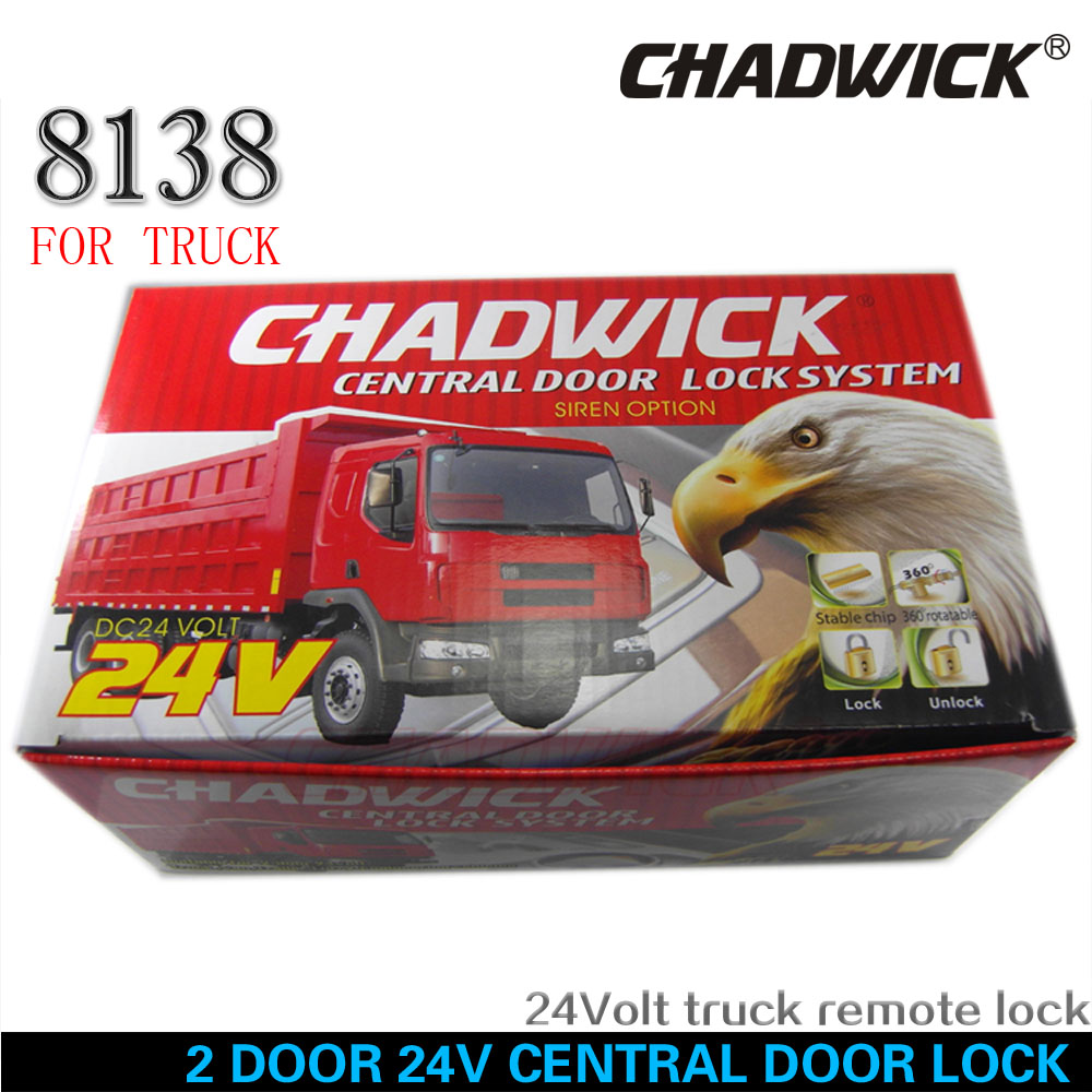 small resolution of 24v for truck 2 door central door lock locking system auto remote control vehicle keyless entry system universal chadwick 8138 in burglar alarm from
