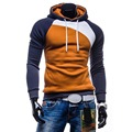 9 Cores de Outono Homens Hoodies Casual Camisola Com Capuz Homens Moda Patchwork Jaqueta Hoodie da Marca Homem Pullovers Sportswear M-3XL