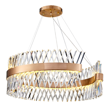 Modern Luxury Crystal Chandelier For Living Room Creative Design Home Decor Lighting Fixtures Suspension LED Lustres 90-265V