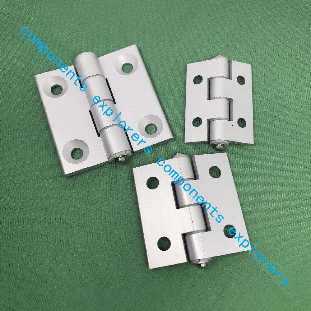 4040 Finished aluminum hinge door hinge,10pcs/lot. пилочка для ногтей leslie store 10 4sides 10pcs lot