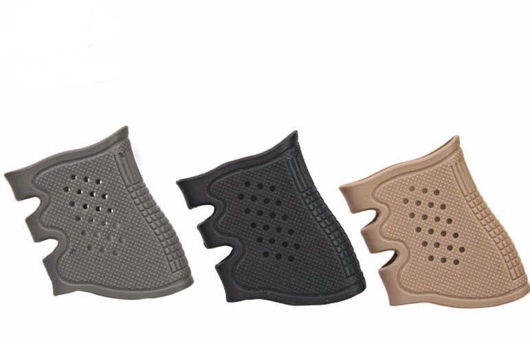 Venta caliente Tactical Guante de Agarre De Goma para Glock 17 19 20 21 22 23 25