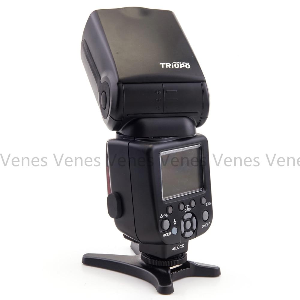 TRIOPO TR-586EX traadita välklambi režiim TTL Speedlite töö - Kaamera ja foto - Foto 2