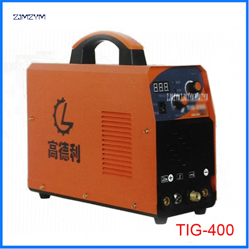 TIG-400 Spot Welders multi function inverter TIG Alumnium small welding machine 110-500V Applicable electrode diameter 1.6-4.0 new space alumnium