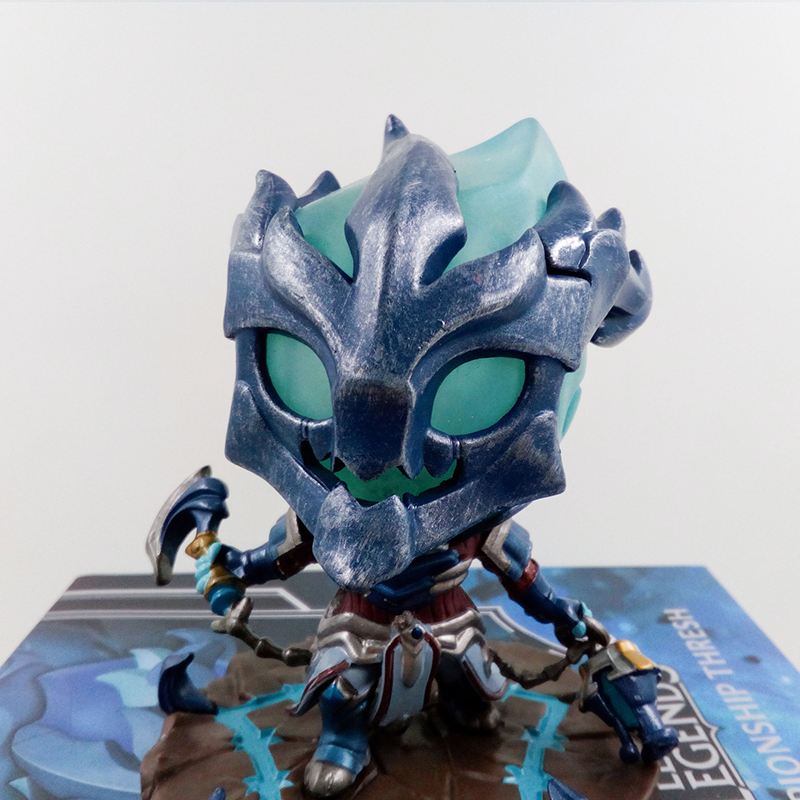 10cm league legends championship thresh the Chain Warden Action Figure Toy Model Western Animiation Cartoon Figma Action Figures